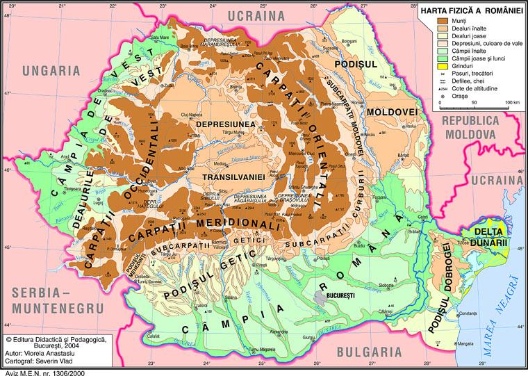 Poziţia Suprafata Si Vecinii Romaniei Geo Hyper